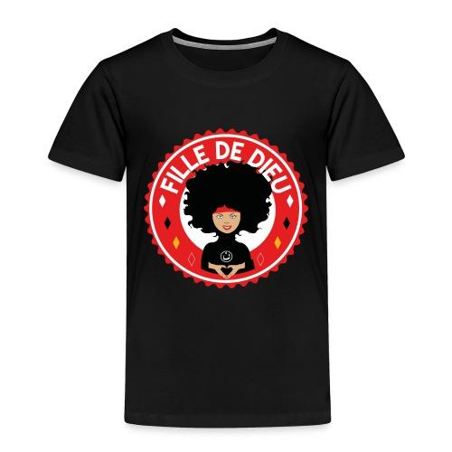 fille de Dieu rouge - T-shirt Premium Enfant