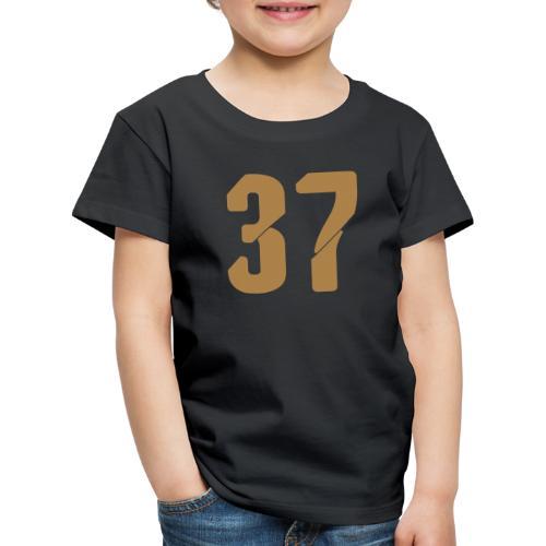 37, Nummern, Zahlen, Pelibol ™ - Kinder Premium T-Shirt