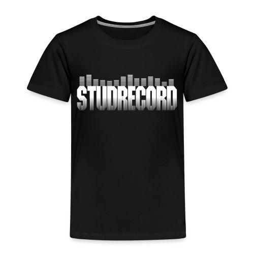 StudRecord (Logo Blanc) - T-shirt Premium Enfant
