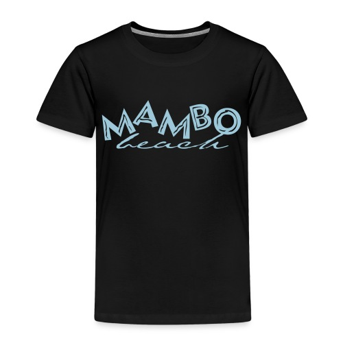 logo mambo blauw los eps orgineel - Kinderen Premium T-shirt