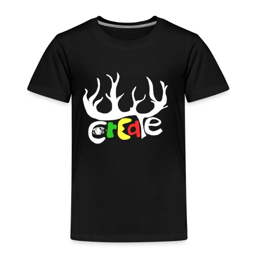 create white - Kinder Premium T-Shirt