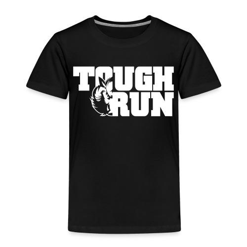 TOUGRUN Logo weiß - Kinder Premium T-Shirt