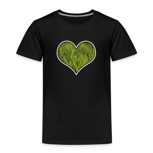 Ein Herz für die Natur! - Kinder Premium T-Shirt