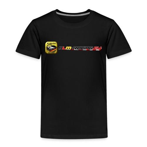 DLM-Racing-eu Logo+URL - Kinder Premium T-Shirt