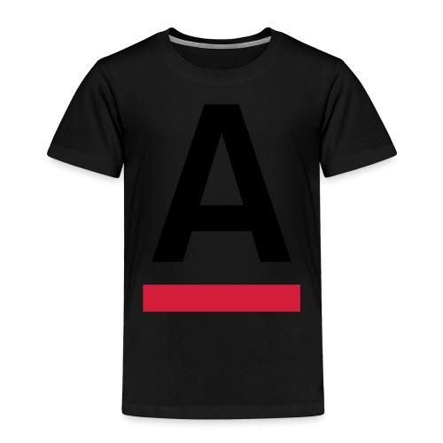 Alliansfritt Sverige A logo 2013 Färg - Premium-T-shirt barn