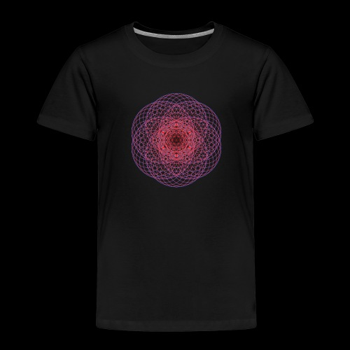 Kontrast Hoodie - Geometric Art - Kinder Premium T-Shirt