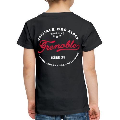 grenoble capitale des alpes - T-shirt Premium Enfant