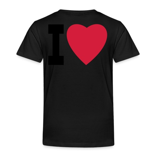create your own I LOVE clothing and stuff - Kids' Premium T-Shirt