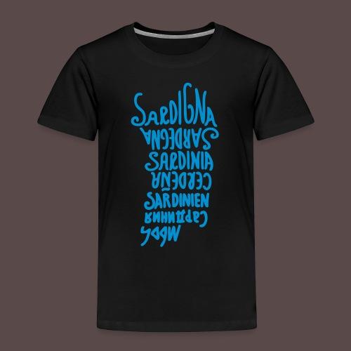 Sardegna, Lingue del mondo - Maglietta Premium per bambini