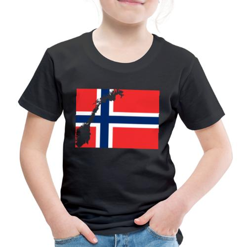 Norges Flagg - Kinder Premium T-Shirt