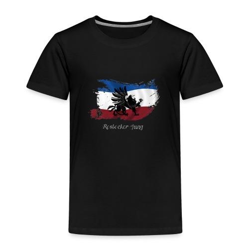 rostocker_jung_weiss - Kinder Premium T-Shirt
