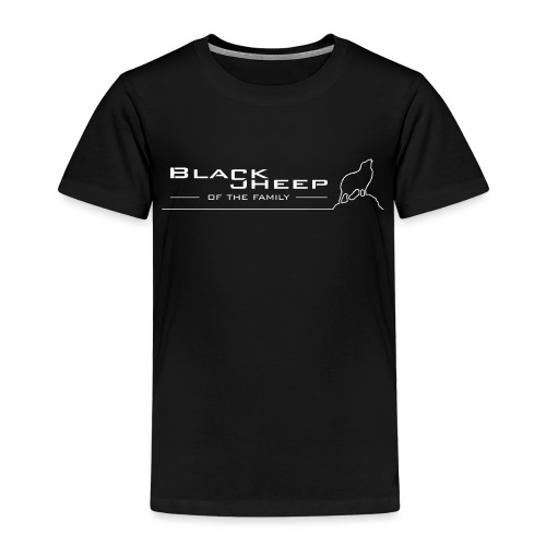 Black sheep of the family - Kinder Premium T-Shirt