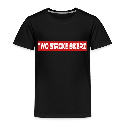 TSB Schriftzug rot weiß png - Kinder Premium T-Shirt