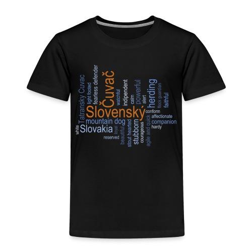 Slovensky Cuvac - Kinder Premium T-Shirt