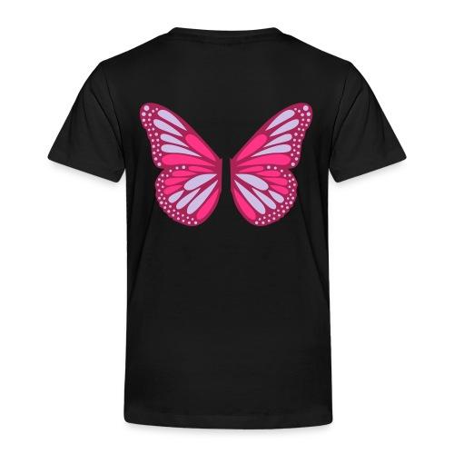 Butterfly Wings - Premium-T-shirt barn