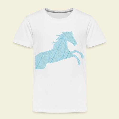 Cheval feuille - T-shirt Premium Enfant