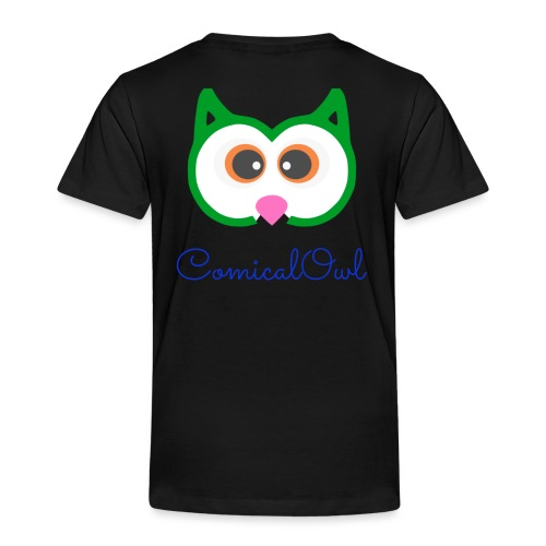 Cartoon Owl - Kids' Premium T-Shirt