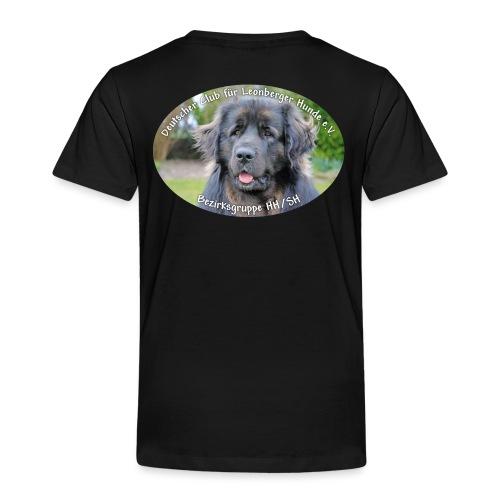 Leonberger BG Logo oval - Kinder Premium T-Shirt