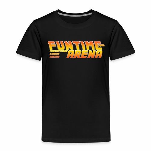 FunTime Arena URL Back - Kinder Premium T-Shirt