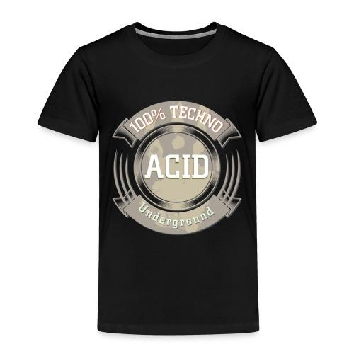 Techno Underground Acid - Kinder Premium T-Shirt