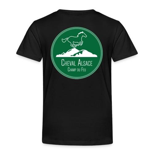 CHEVAL ALSACE- logo - T-shirt Premium Enfant