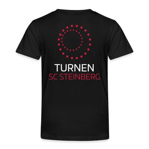 Logo der Turnabteilung des SC Steinbergs - Kinder Premium T-Shirt
