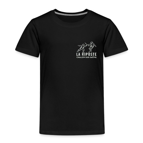 La Riposte Blanc - T-shirt Premium Enfant