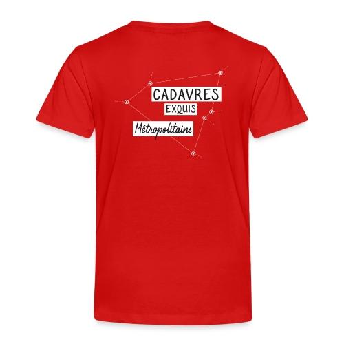 Cadavres Exquis Métropolitains - T-shirt Premium Enfant