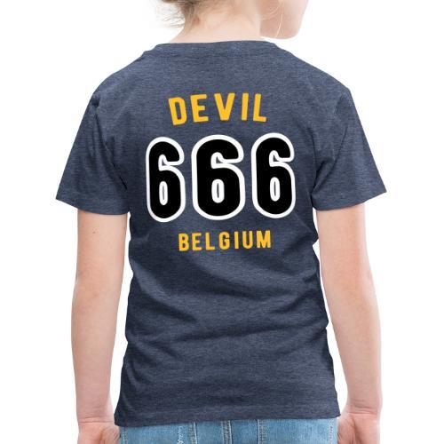 666 devil Belgium - T-shirt Premium Enfant