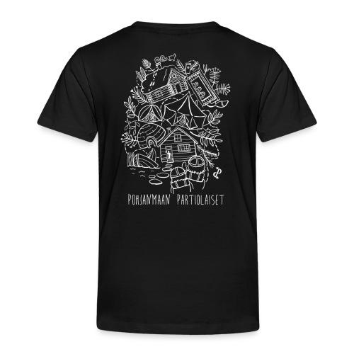 Aavoilta vaaroille - Lasten premium t-paita