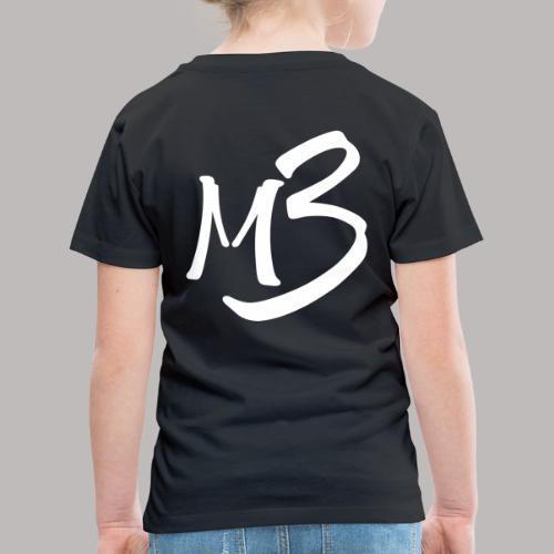 MB 13 white - Kids' Premium T-Shirt