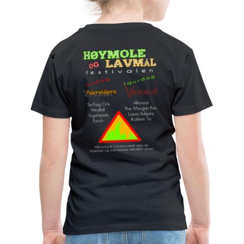 Høymole og lavmål - Premium T-skjorte for barn