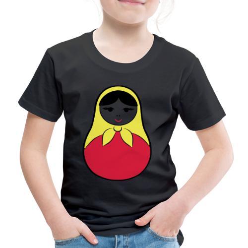 Matroschka / Babuschka - russische Puppe in Puppe - Kinder Premium T-Shirt
