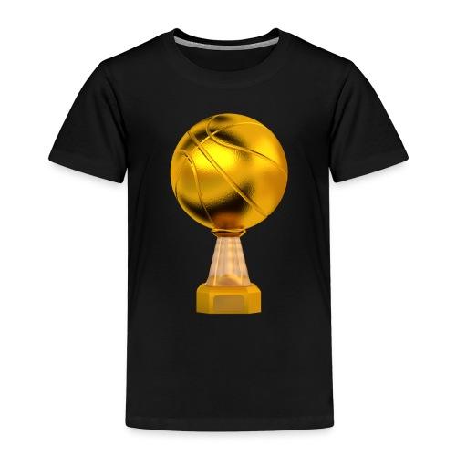 Basketball Golden Trophy - T-shirt Premium Enfant