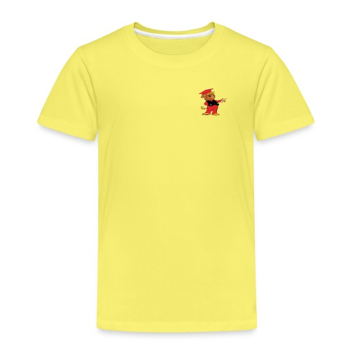 Nisse only redblack 1 gif - Premium-T-shirt barn