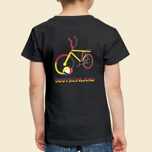 Radball | Deutschland Rad - Kinder Premium T-Shirt