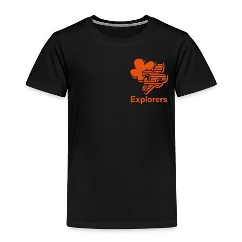 Explorers Klein - Kinderen Premium T-shirt