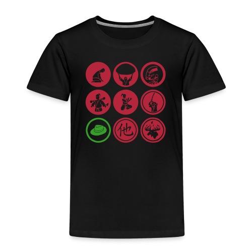 samlade stämplar_tröja_KL - Kids' Premium T-Shirt