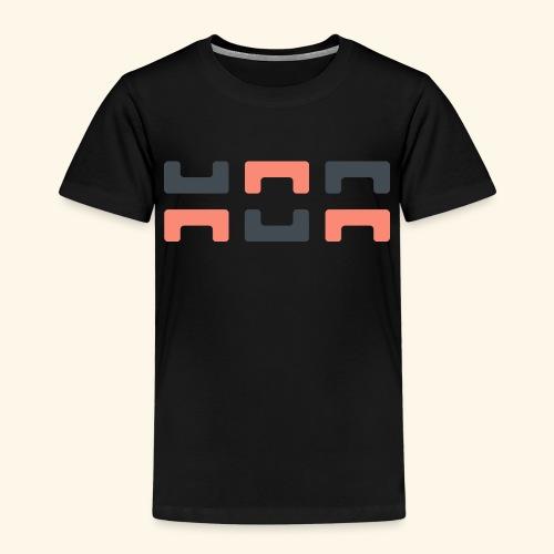 Bezier Elephant, by Hoa - Kids' Premium T-Shirt