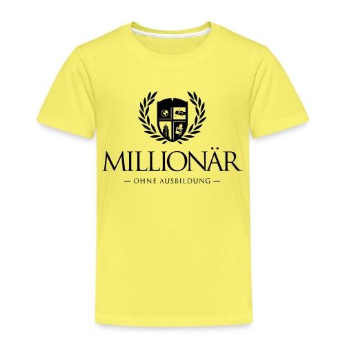 Millionär ohne Ausbildung Shirt - Kinder Premium T-Shirt
