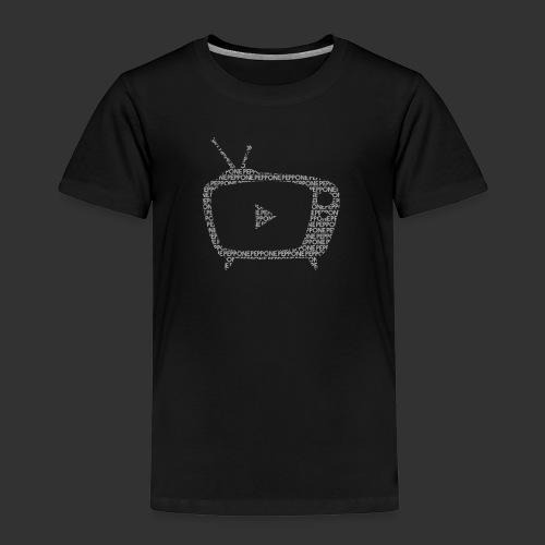 Texty Blanc - T-shirt Premium Enfant