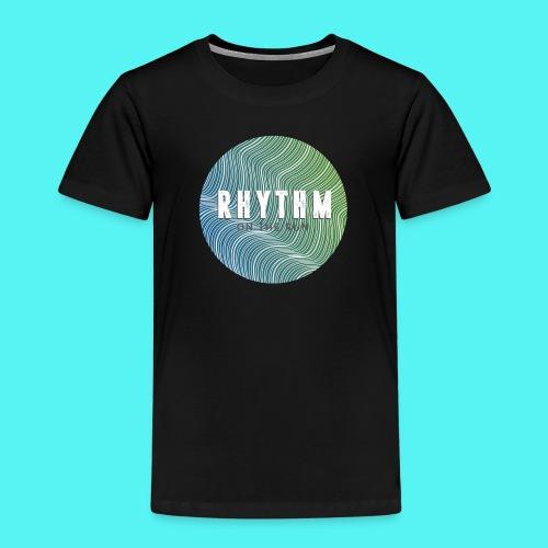 Rhythm On The Run Logo - Kids' Premium T-Shirt