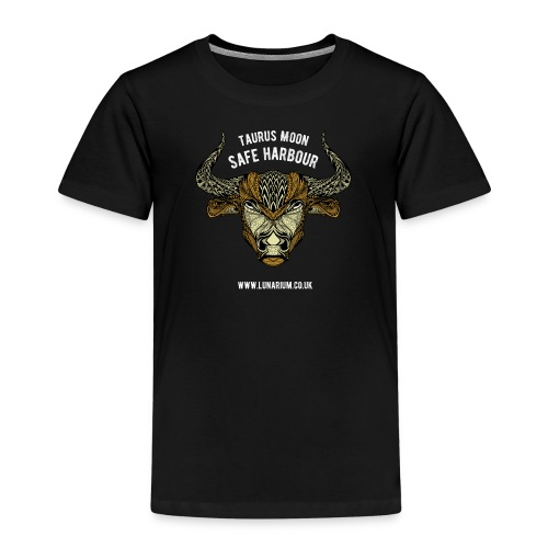 Taurus Moon Dark - Kids' Premium T-Shirt