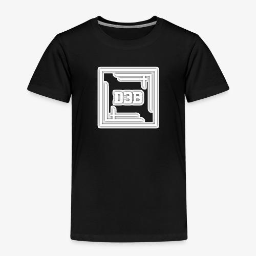 d3b white - T-shirt Premium Enfant