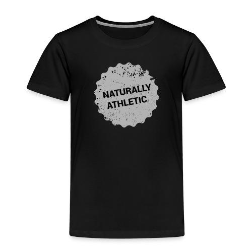 athletic sticker grey png - Kinder Premium T-Shirt