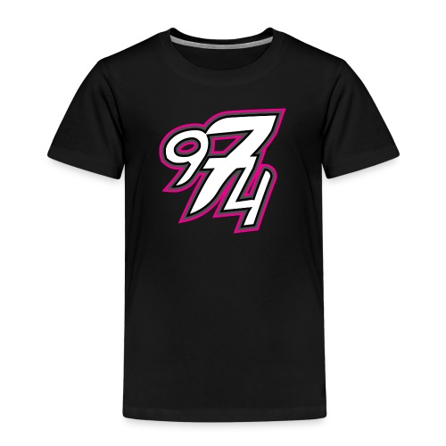 974 color fushia.png - T-shirt Premium Enfant