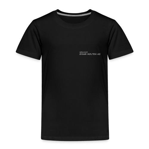 09hvitskrift - Premium T-skjorte for barn