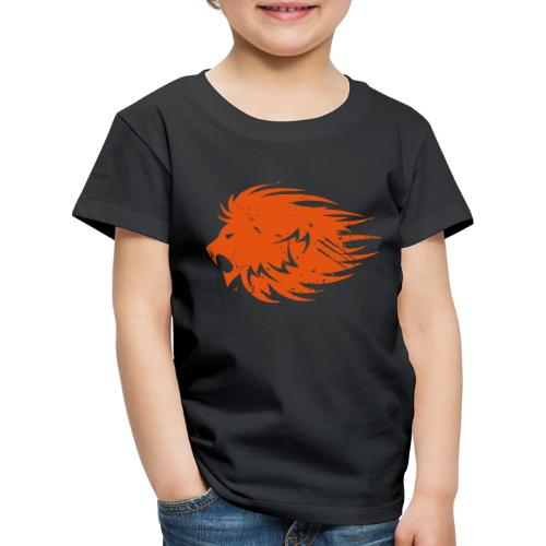 MWB Print Lion Orange - Kids' Premium T-Shirt