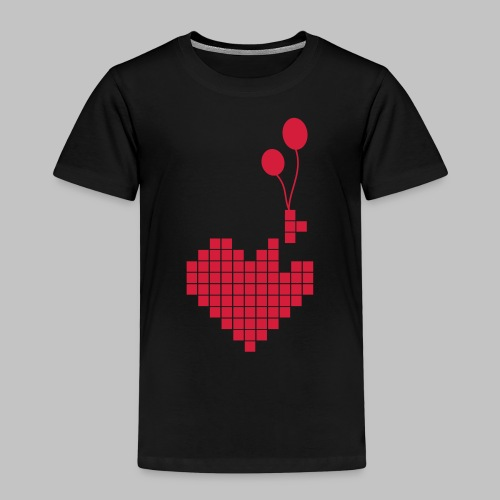 heart and balloons - Kids' Premium T-Shirt
