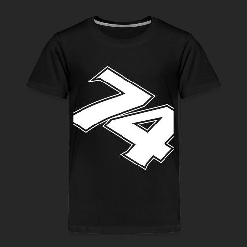 slanted - Premium-T-shirt barn